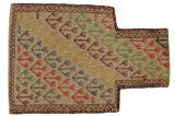 Qashqai - Saddle Bag Persian Carpet 54x38 - Picture 1