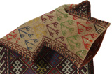 Qashqai - Saddle Bag Persian Carpet 54x38 - Picture 2