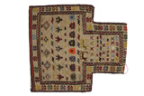 Qashqai - Saddle Bag Persian Carpet 52x46 - Picture 1