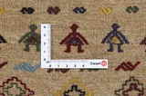 Qashqai - Saddle Bag Persian Carpet 52x46 - Picture 4