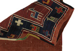Qashqai - Saddle Bag Persian Carpet 42x35 - Picture 2