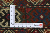 Qashqai - Saddle Bag Persian Carpet 47x35 - Picture 4