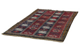 Gabbeh - Qashqai Persian Carpet 222x148 - Picture 2