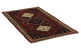 Yalameh - Qashqai Persian Carpet 200x105 - Picture 1
